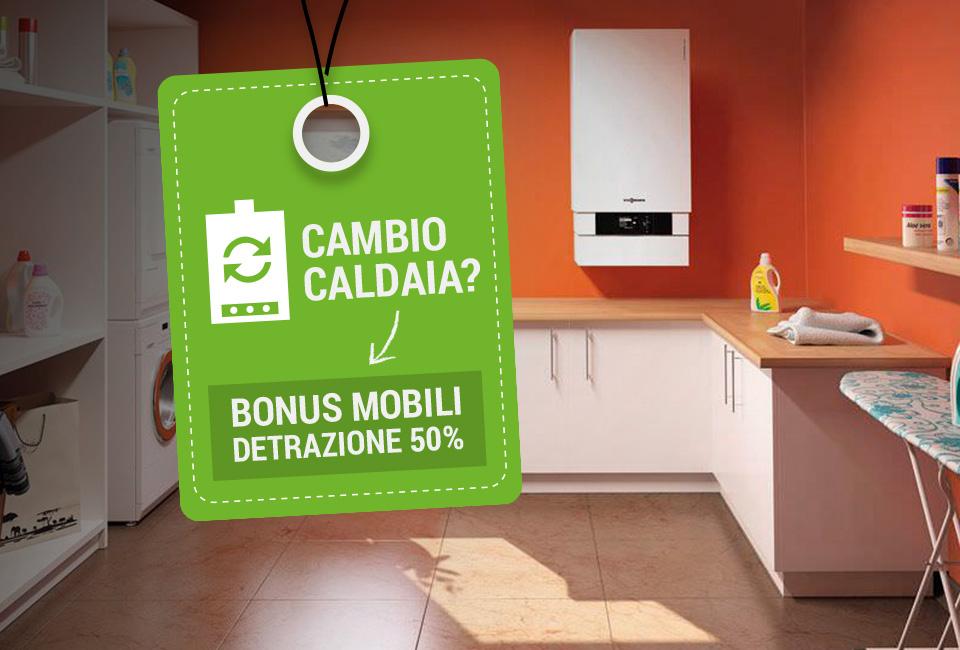 Bonus mobili sostituzione caldaia